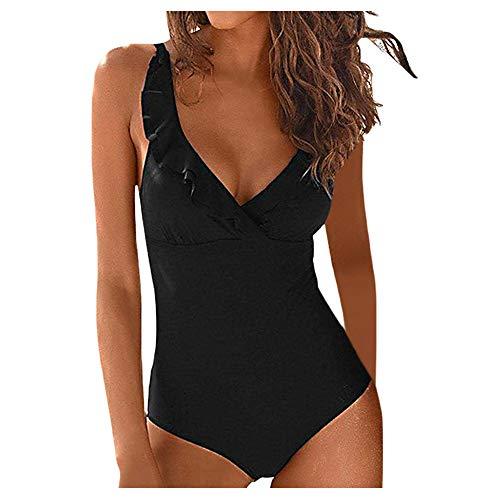 82690043c20a Rcool Costume da Bagno Donna Sexy Costume Intero Costumi da Bagno Un Pezzo  Elegante Bikini Siamese