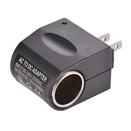 Leoie Universal Ausgang AC Wand zu DC Auto Zigarettenanzünder Adapter Power Konverter Sockel (US-Stecker) Dc Universal-wand