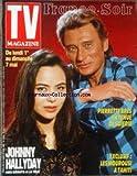TV MAGAZINE FRANCE SOIR [No 13910] du 01/05/1989 - PIERRETTE BRES EN TENUE DE SOIERIE - JOHNNY HALLYDAY - LES MOUROUSI A TAHITI.