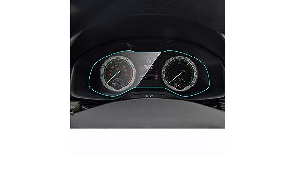 Fangpan Auto Instrumententafel Displayschutzfolie Für Skoda Kodiaq Karoq Interieur Armaturenbrett Membran Schutzfolie Tpu Autozubehör Sport Freizeit