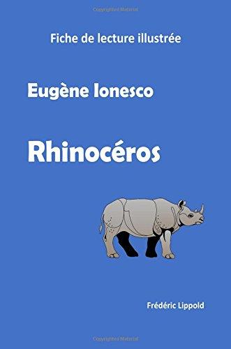 Fiche de lecture illustrée - Rhinocéros, d'Eugène Ionesco