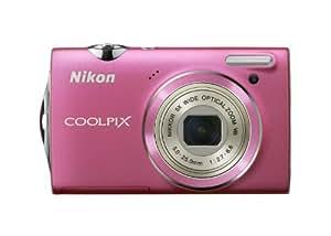 Nikon Coolpix S5100 Digitalkamera (12 Megapixel, 5-fach opt. Zoom, 6.7 cm (2.7 Zoll) Display, HD-Videofunktion) pink