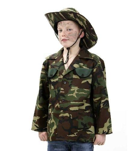 Dschungeljacke Dschungel Jacke für Kinder Gr 128 - 164