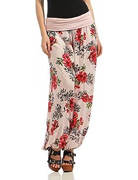 ZARMEXX Pantalones de harén de las mujeres Pantalones de verano Pantalones casuales Pantalones de bomba Pantalones...