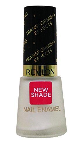 Revlon Transforming Effect Nail Enamel Top Coat, Matte Pearl Glaze, 8ml