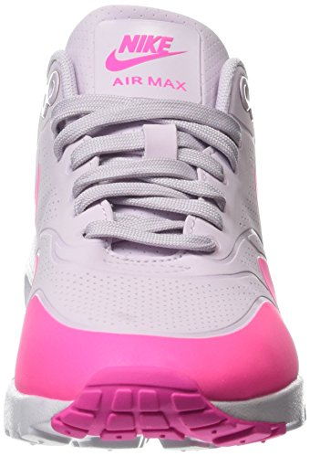 Nike Wmns Air Max 1 Ultra Moire, Chaussures de Sport Femme, 5 EU Multicolore (Bleached Lilac/Pink Blast/White)