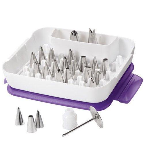 Wilton 2104-2531 - Set de boquillas con caja, 22 boquillas width=