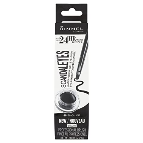 Rimmel London Gel Liner, Black