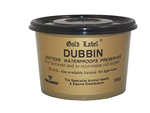 Gold Label Dubbin Softens, Waterproofs & Preserves Leather, Horse Tack, Boots