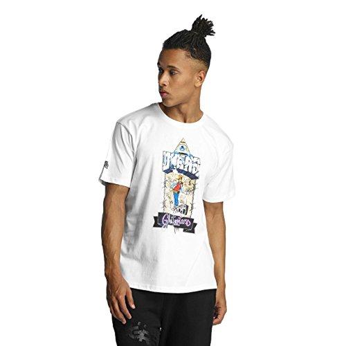Dangerous DNGRS Herren Oberteile / T-Shirt Ghettostars Weiß