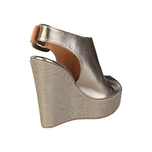 Made in Italia CLOTILDE-P Zeppe Donna Giallo