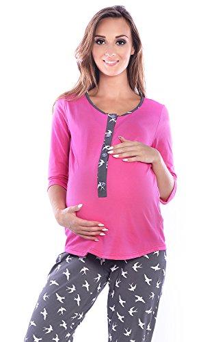 Umstandspyjama rosa