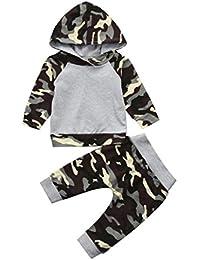 FRYS ensemble bebe garcon hiver vetement bébé garçon naissance printemps  pas cher manteau enfant garçon Imprimé blouse chemise haut t shirt… 7ef066ca35e
