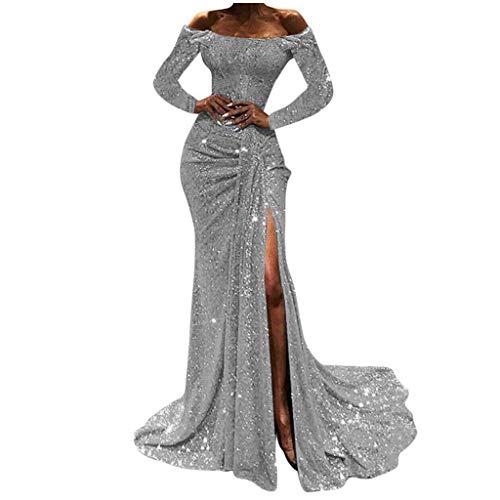 Vestiti Eleganti Da Donna.Paillettes Per Abiti Da Cocktail Cocktail Vestito Elegante Scollo