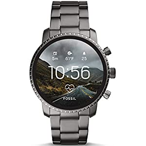 Fossil Mens Smartwatch with Stainless Steel Strap FTW4012