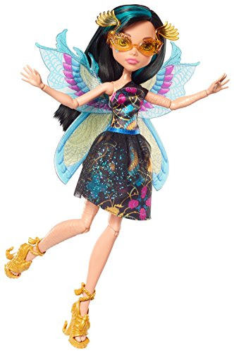 Monster High FCV54 Garten-Monsterfreundin Cleo de Nile Puppe