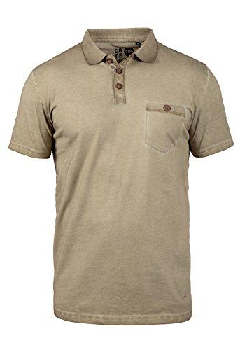 !Solid Termann Herren Polo-Shirt Polokragen Kurzarm Aus 100% Baumwolle Dune (5409)