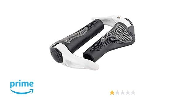 Design ergonomico Generic Rubber Bike Grips con Corno Bar per 22.2/mm Diametro XC AM FR DH NOVPEAK MTB Bicicletta del Manubrio