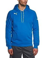PUMA Sweatshirt Hoody - Sudadera de fútbol para hombre, color azul, talla L