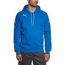 PUMA Sweatshirt Hoody - Sudadera de fútbol para hombre, color azul, talla M