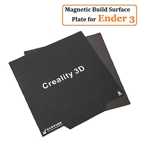 Official Creality Imprimante 3D Ender 3 Pro / 3X, CR 20 Pro Autocollant Magnétique Flexible Surface...