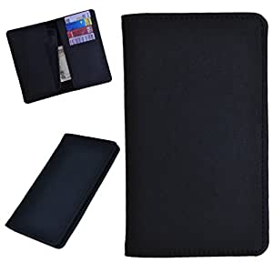 DSR Pu Leather case cover for Spice Stellar 440 (black)