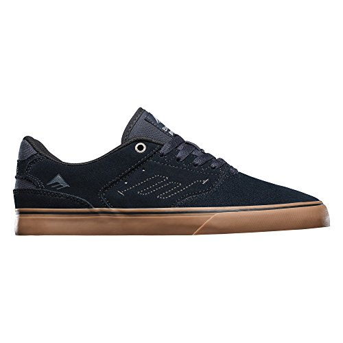 Emerica The Reynolds Low Vulc, Chaussures de skateboard homme Bleu
