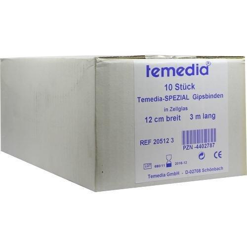 GIPSBINDE Temedia spezial 12 cmx3 m 10 St Binden