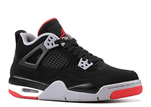 AIR Jordan 4 Retro BG (GS) 'BRED' - 408452-060 - Size 39-EU -
