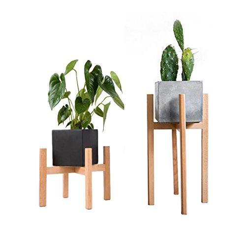Blumenständer Standfuß aus Holz Flowerpot Ausstellungsstand Topfpflanzen Balkon Wohnzimmer Einfache Moderne Buche Indoor Outdoor Assembly (größe : Large)