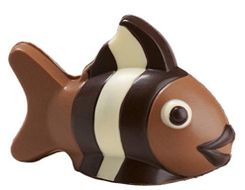 06#121519 Schokoladen Tiere, Fisch, NEMO, Vollmilch, Angler, Angeln, Geschenk, Schokolade, Aquarium,'