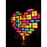TACTBIT LIGHT – Gran Paquete con 28 Piezas. Diseño Original. Lámpara de mesa USB-LED, Cree un corazón, una cruz, un árbol y mucho más!