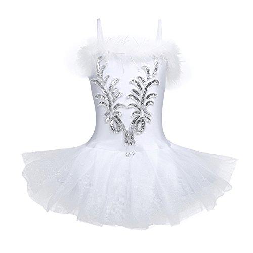 Kostüm Seiltänzerin Kinder - YiZYiF Mädchen Ballettanzug Ballettkleid Ballett Trikot