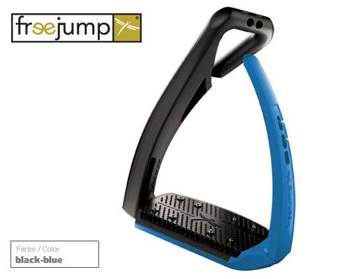 Sicherheitssteigbügel soft up pro (schwarz blau)