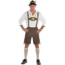 Amscan International Adulto Señor. Para el Oktoberfest Hombre Disfraz (Grande/Extra grande)