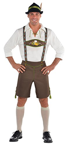 Amscan International Adulti Mr. Oktoberfest Uomo Costume (Grande/Xl)
