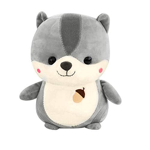 K&K Süße Kinder Eichhörnchen Tier Puppe Plüsch Familie Partei Spielzeug Kinder Mode Spielzeug Eichhörnchen Puppe Gefüllte Spielzeug 25cm -