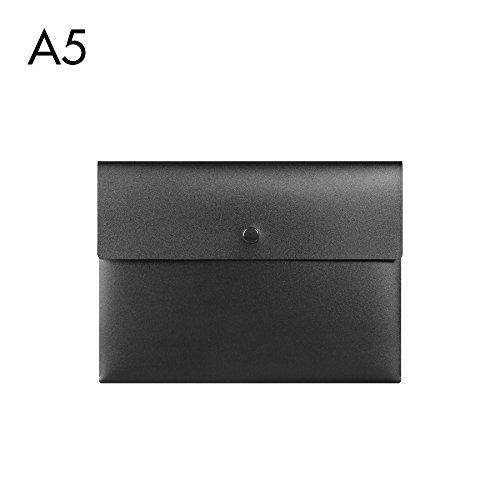 btjc Sony Jurismappe A5einfach Business Custom Paper Bag Finanzielle Taschen Klein, 2088Schwarz