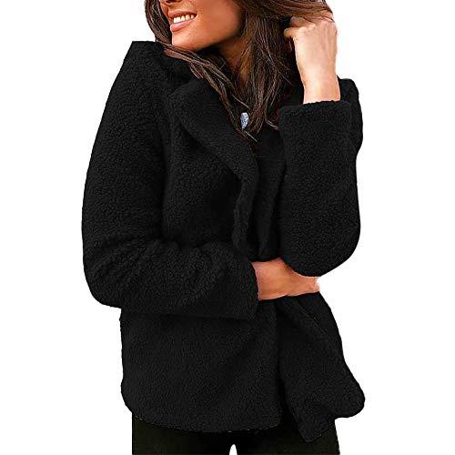 Luckycat Frauen Damen Solid Suit Blazer Jacke Mantel -