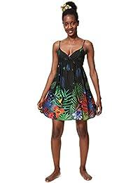 Desigual Dress Swimwear Sia Woman Black, Vestito Donna