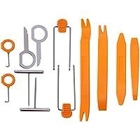 EEFUN Universal 12 piezas Nuevo tablero del clip de la puerta del coche Tablero de instrumentos audio desmontaje Kits Instalador Pry Herramienta