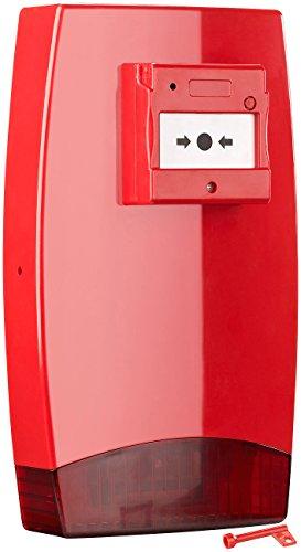 VisorTech Alarmsirene: Heim-Alarmmelder mit akustischem Signal und Blinklicht (Signalgeber)