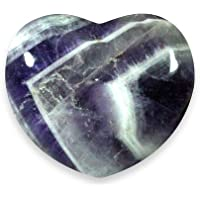 Chevron Amethyst Crystal Heart - 4.5cm by CrystalAge preisvergleich bei billige-tabletten.eu