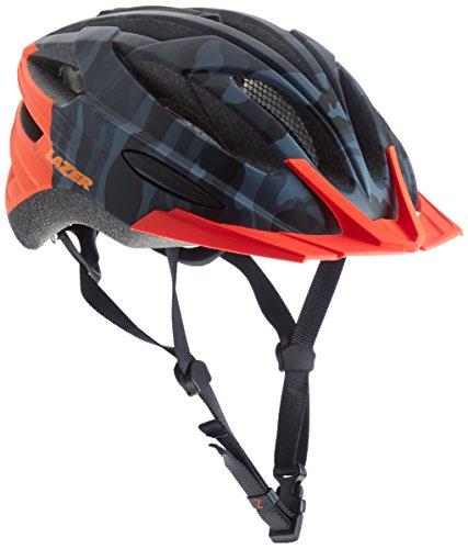 Lazer Vandal Fahrradhelm, Black Flash Orange, M-L