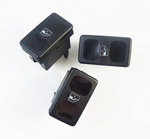 3 x Interrupteur Bouton Lève-vitre électrique 191959855 neuf pour Golf Cordoba Cordoba Vario Ibiza II Ibiza III Inca Golf II