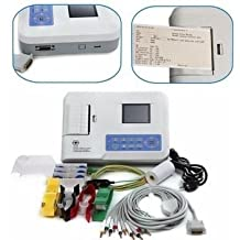 Electrocardiógrafo 3 canales con interpretación