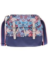 Oilily Animal Tope M Shoulder Bag Blue