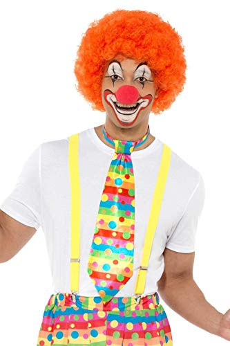 Big Top Kostüm Clown - Smiffys Big Top Clown Tie Fancy Dress Accessory