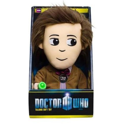 Doctor Who Talking Doctor Plush (Medium)