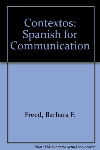 Contextos: Spanish for Communication